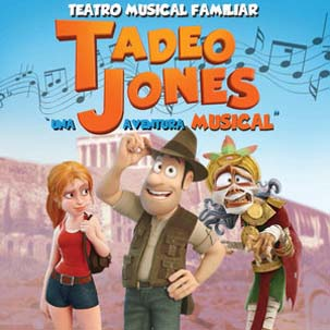 El musical 'Tadeo Jones', en el Teatro Carrión en Valladolid