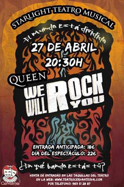 'Queen. we will rock yoy', en el Teatro Cervantes en Valladolid